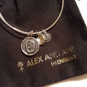 ALEX AND ANI Initial Q Bracelet